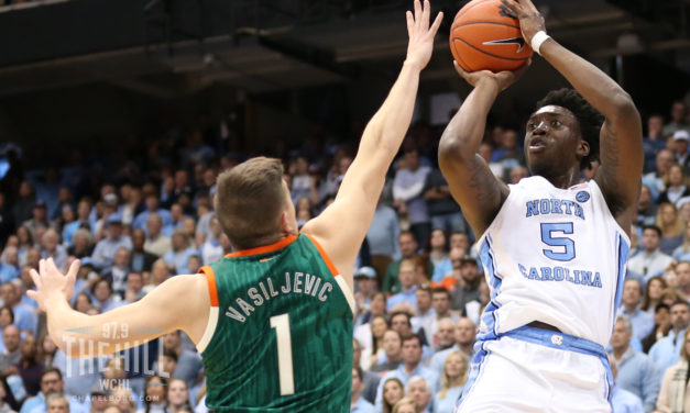 Men's Basketball: NCAA Tournament Selection Committee has UNC as No. 2 Seed if Season Ended Today