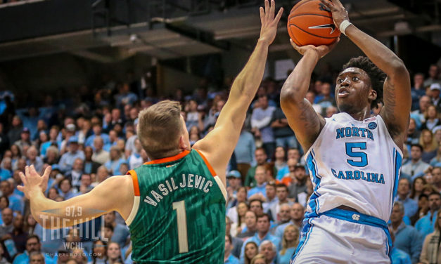 Listen To The Top Calls From UNC Basketball's Win Over Miami