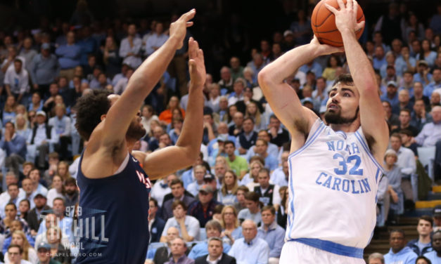 Luke Maye Earns First Team Academic All-District Honors