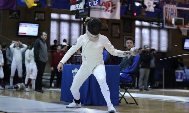 UNC's Georgina Summers Named ACC Fencer of the Week