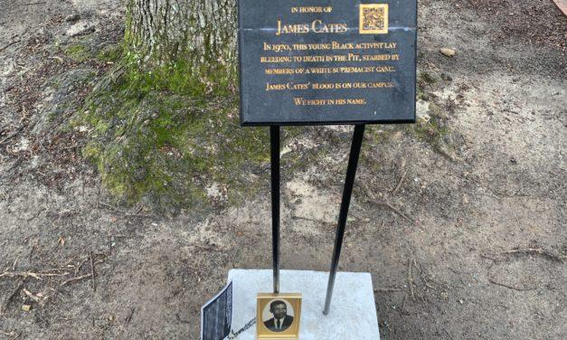 1 of 2 Memorials Placed Around UNC Campus Removed