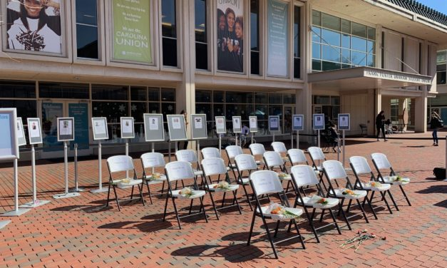UNC Students Create Memorial Honoring Parkland Shooting Victims