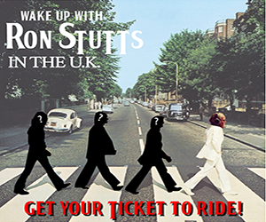 Want To Travel To The United Kingdom With Ron Stutts?