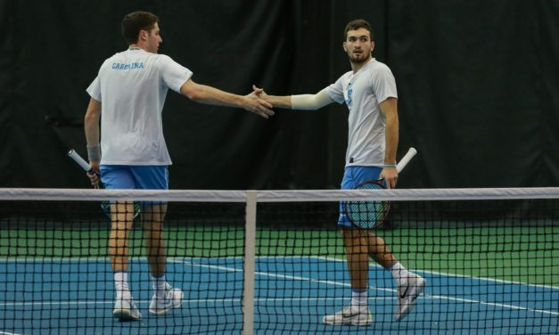 UNC Men's Tennis Ranked No. 5 in Latest ITA National Rankings