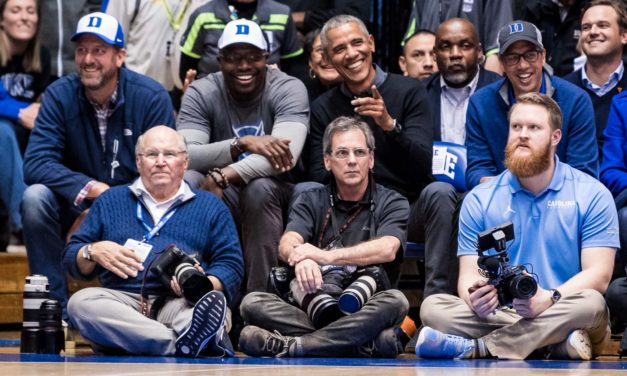 UNC Undefeated, Duke Winless in Games Attended by President Barack Obama