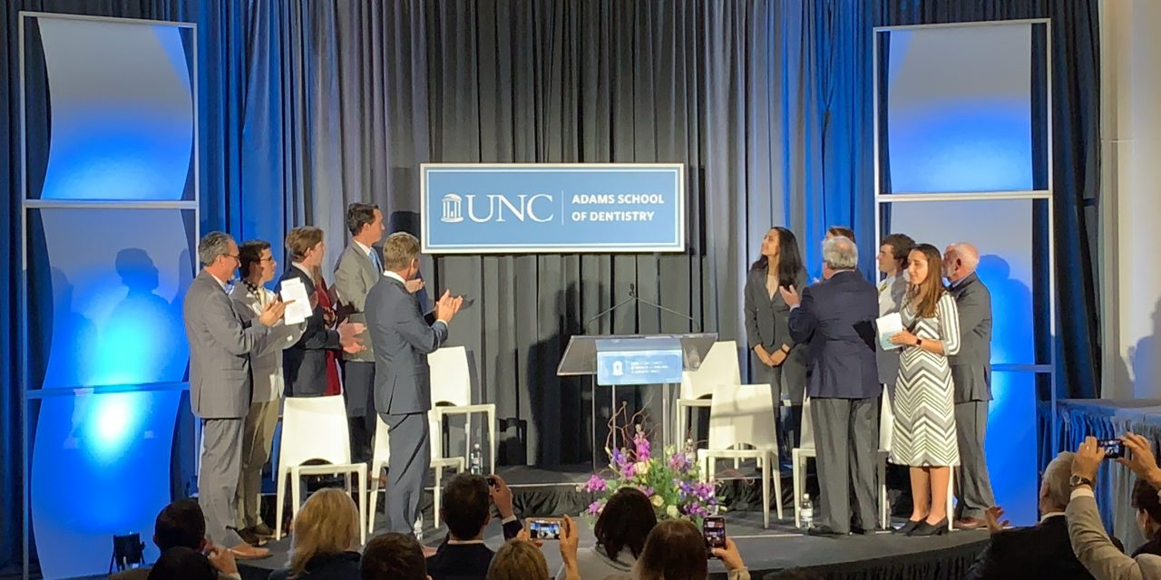 Largest Gift in UNC Dental School History Funds Scholarship, Community Work