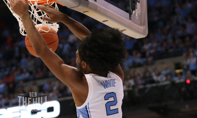 Coby White Sets NBA Rookie Record for Most Made Three-Pointers in Consecutive Games