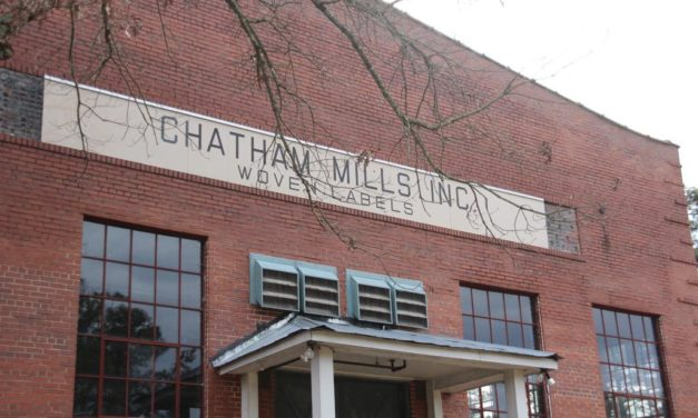 Chatham County Roundup: Chatham Mills & 'Millworker'