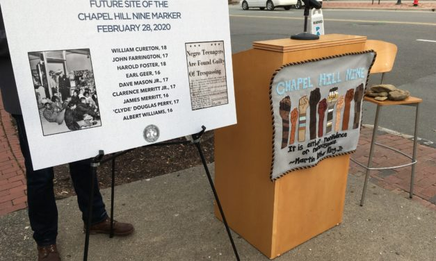 Chapel Hill 9 History Commemorated on Franklin Street