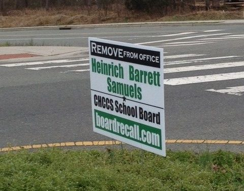 Recall Campaign For CHCCS Board Members Suspended