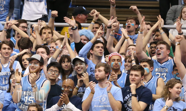 UNC Basketball Players, Fans React to Tar Heels Hosting Wofford in Carmichael Arena
