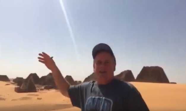 UNC Professor & Video Journalist Jim Kitchen Explains the History of the Pyramids in South Sudan