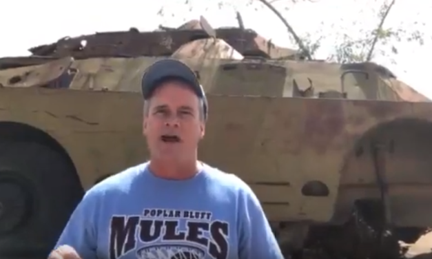 "UNC Professor & Video Journalist Jim Kitchen Travels to the ""Tank Graveyard"" in Eritrea"