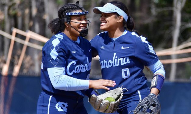 Softball: UNC Blanks Boston College 2-0 to Clinch Series Victory