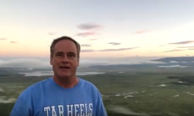UNC Professor & Video Journalist Jim Kitchen Explains the Origin of the Ngorongoro Crater