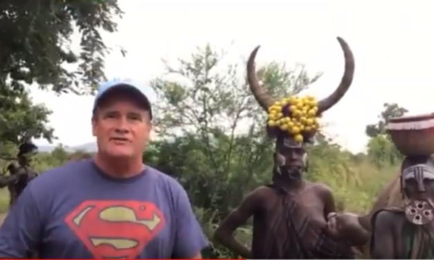 UNC Professor & Video Journalist Jim Kitchen Explains the Unique Culture of the Mursi Tribe in Ethiopia