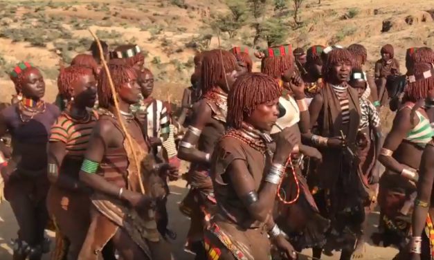 UNC Professor & Video Journalist Jim Kitchen Observes the Ritual Before a Bull Jumping Ceremony in Ethiopia