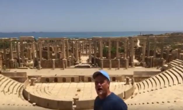 UNC Professor & Video Journalist Jim Kitchen Visits War-Torn Lybia