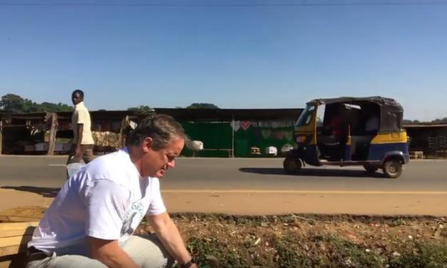 UNC Professor & Video Journalist Jim Kitchen Works at a Coffin Shop in Malawi