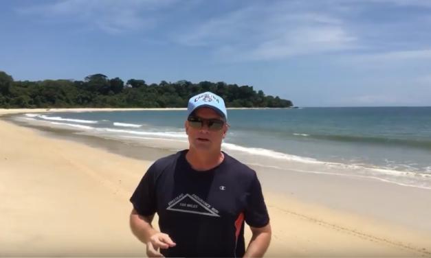 UNC Professor & Video Journalist Jim Kitchen Visits the Beautiful Beaches of Gabon