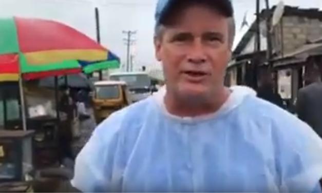 UNC Professor & Video Journalist Jim Kitchen Visits the West Point Slums in Liberia