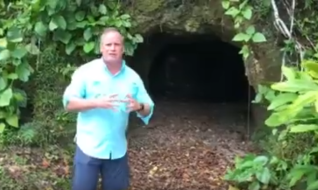 UNC Professor & Video Journalist Jim Kitchen Visits the Site of the Battle of Peleliu
