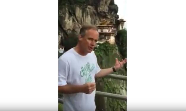 UNC Professor & Video Journalist Jim Kitchen Visits the Tiger's Nest Monastery in Bhutan