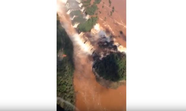 UNC Professor & Video Journalist Jim Kitchen Visits the Iguazu Falls in South America