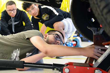 Durham Tech's Automotive Systems Technology Putting Students on the Road to Success
