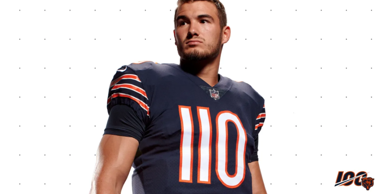 8b334c9a8d1 Want To Buy Mitchell Trubisky s No. 110 Jersey  Hope You Have An Extra   2500. The Chicago Bears ...