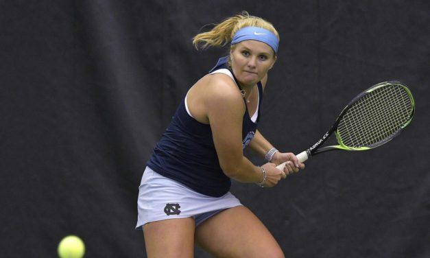 No. 2 UNC Women's Tennis Blanks No. 13 Florida State