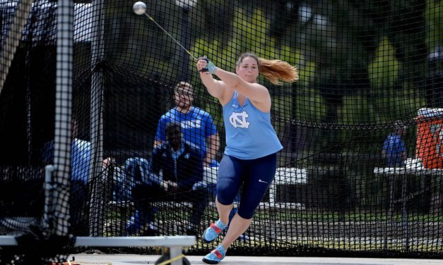 UNC's Jill Shippee Moves Into Top Five Nationally in Women's Hammer Throw