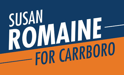 Romaine Announces Run for Carrboro Board of Aldermen
