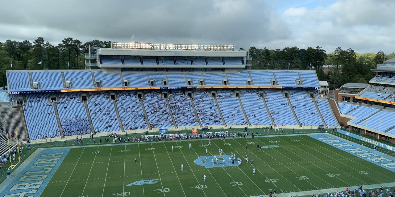 Rain or Shine, Carolina Fans Turn Out for Mack Brown's Debut in UNC Football Spring Game