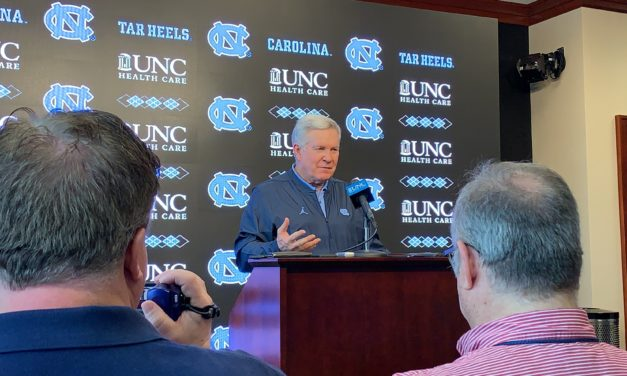 Mack Brown Discusses UNC Football and the Quarterback Battle