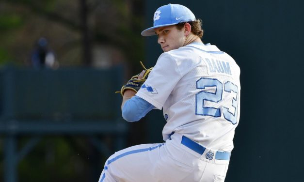 UNC Baseball Takes Friday's Series Opener at Notre Dame