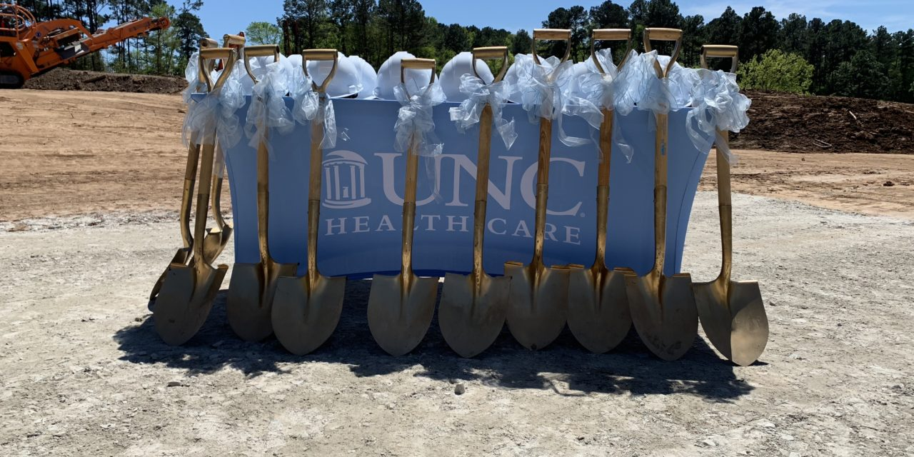 UNC Health Care Celebrates Groundbreaking at Chapel Hill Eastowne Campus