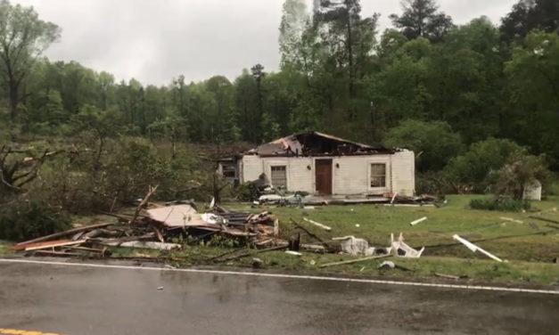 Tornado Reportedly Destroys Residence in Hillsborough