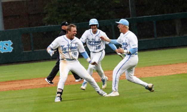 No. 17 UNC Baseball Sweeps Wild Doubleheader Over Boston College
