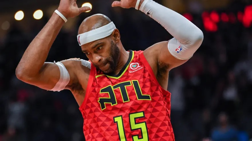new style 75490 60ea1 Vince Carter Announces He Will Return for 22nd NBA Season ...