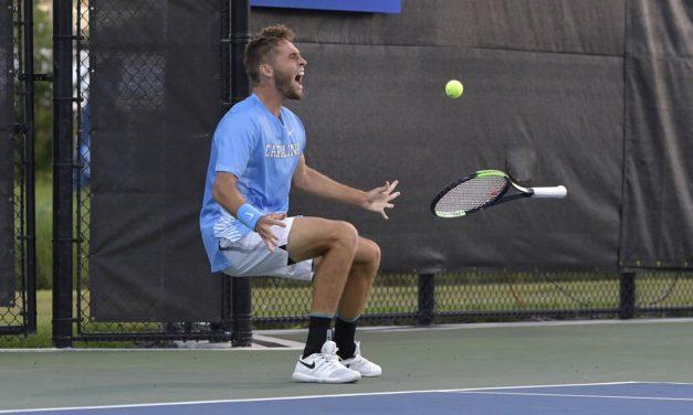 NCAA Men's Tennis Tournament: No. 9 UNC Upsets No. 1 Ohio State, Advances to Final Four