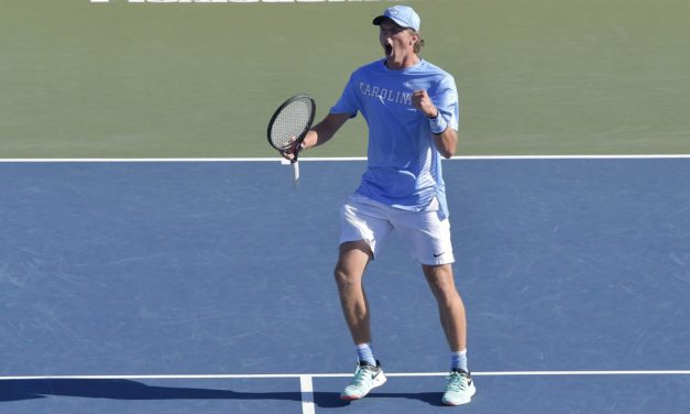 No. 4 Wake Forest Drops No. 9 UNC in NCAA Men's Tennis Tournament Semifinals