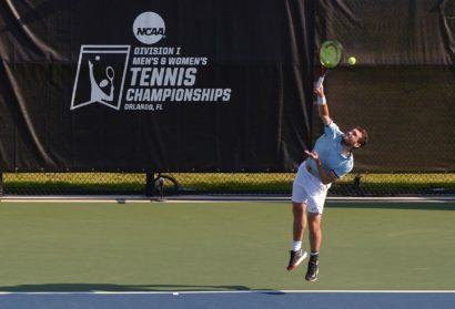 William Blumberg Earns Spot in NCAA Men's Tennis Singles Quarterfinals