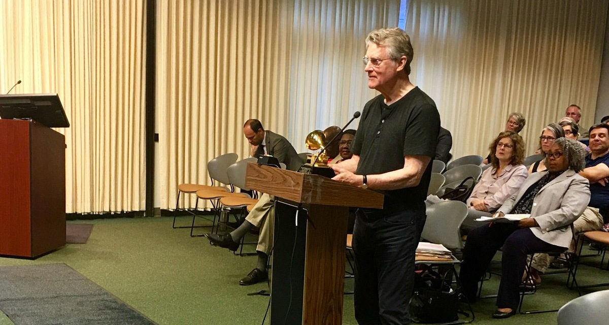 Orange County Honors Grammy-Winning UNC Professor