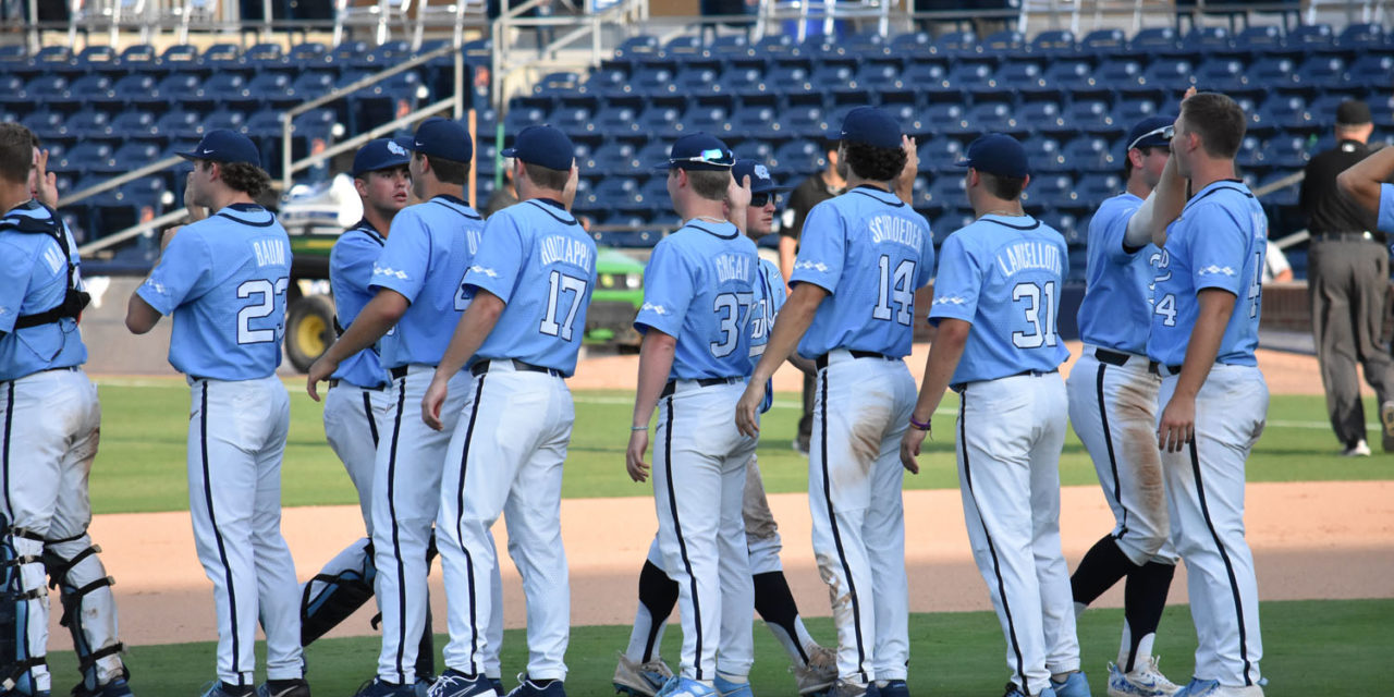 UNC Wins NCAA Tournament Opener in Walkoff
