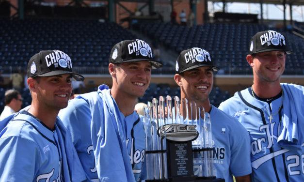 ACC Baseball Championship: UNC Celebration