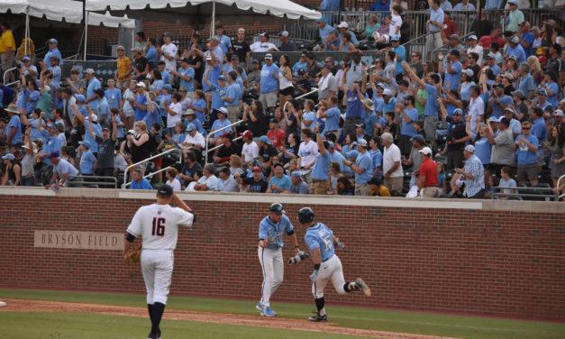 UNC Baseball versus Liberty