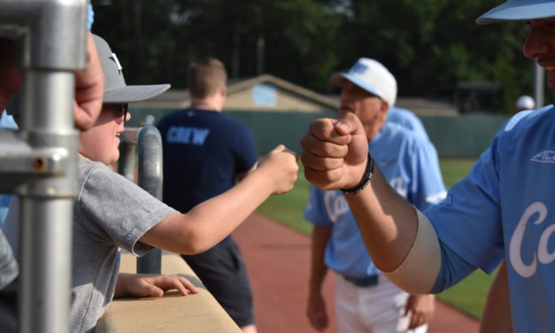 UNC Baseball versus Tennessee