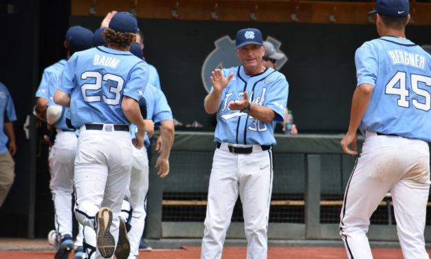 UNC Baseball Ties Up Super Regional with Auburn
