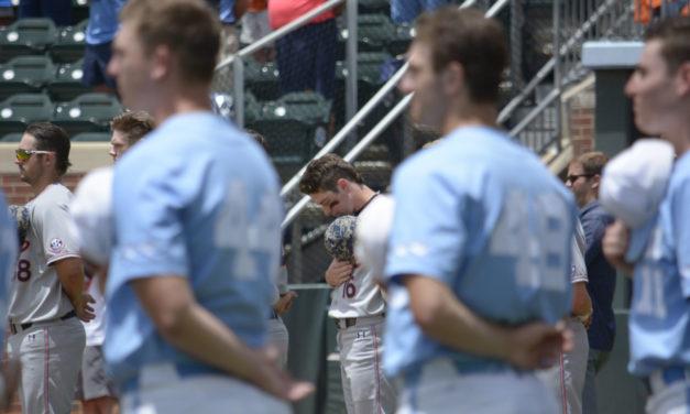 UNC Baseball versus Auburn: Game 3